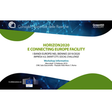 Information workshop on Horizon 2020 and CEF at the CNR